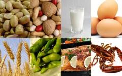 8 common allergens