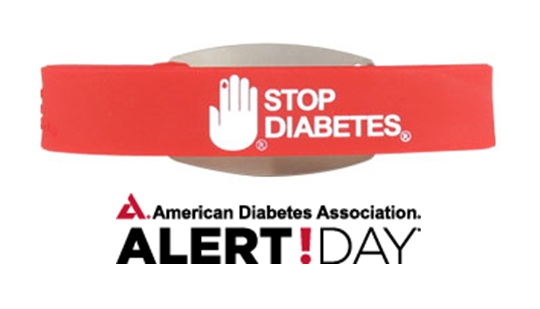 march 25th is american diabetes association alert day