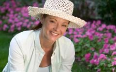 breast cancer woman gardening