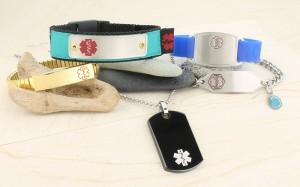 Alzheimers ID jewelry