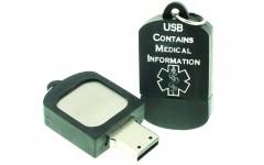 Silicone USB Dog Tag