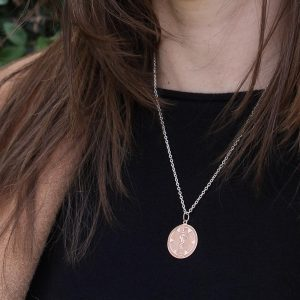 Rosegold Medical ID Necklace